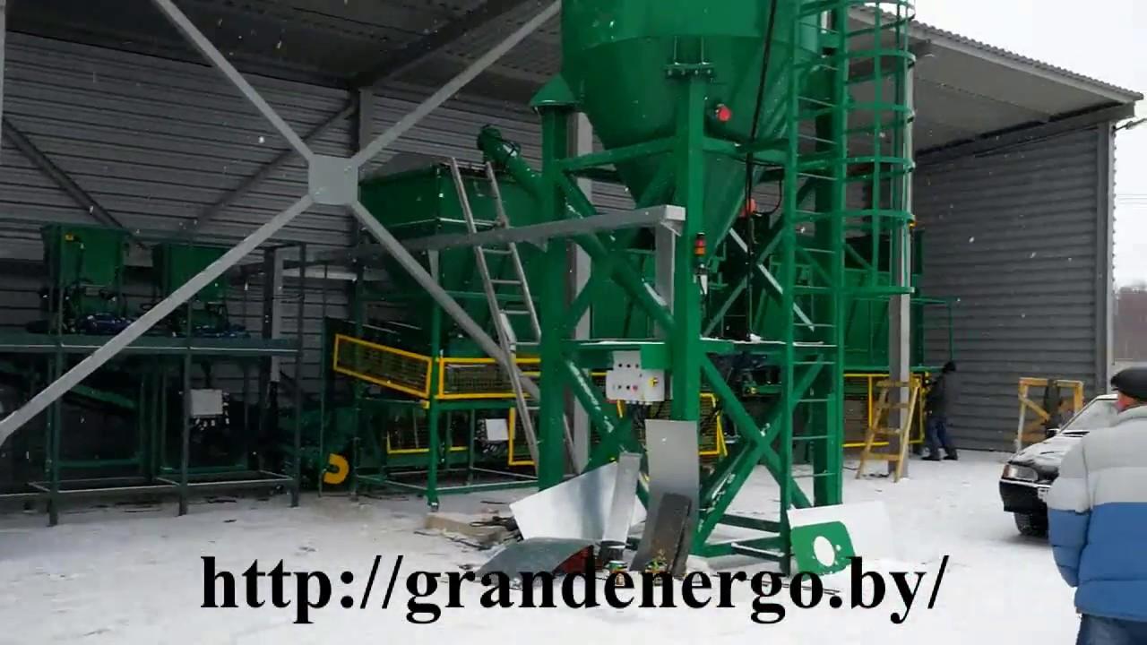 Оборудование для переработки верхового торфа