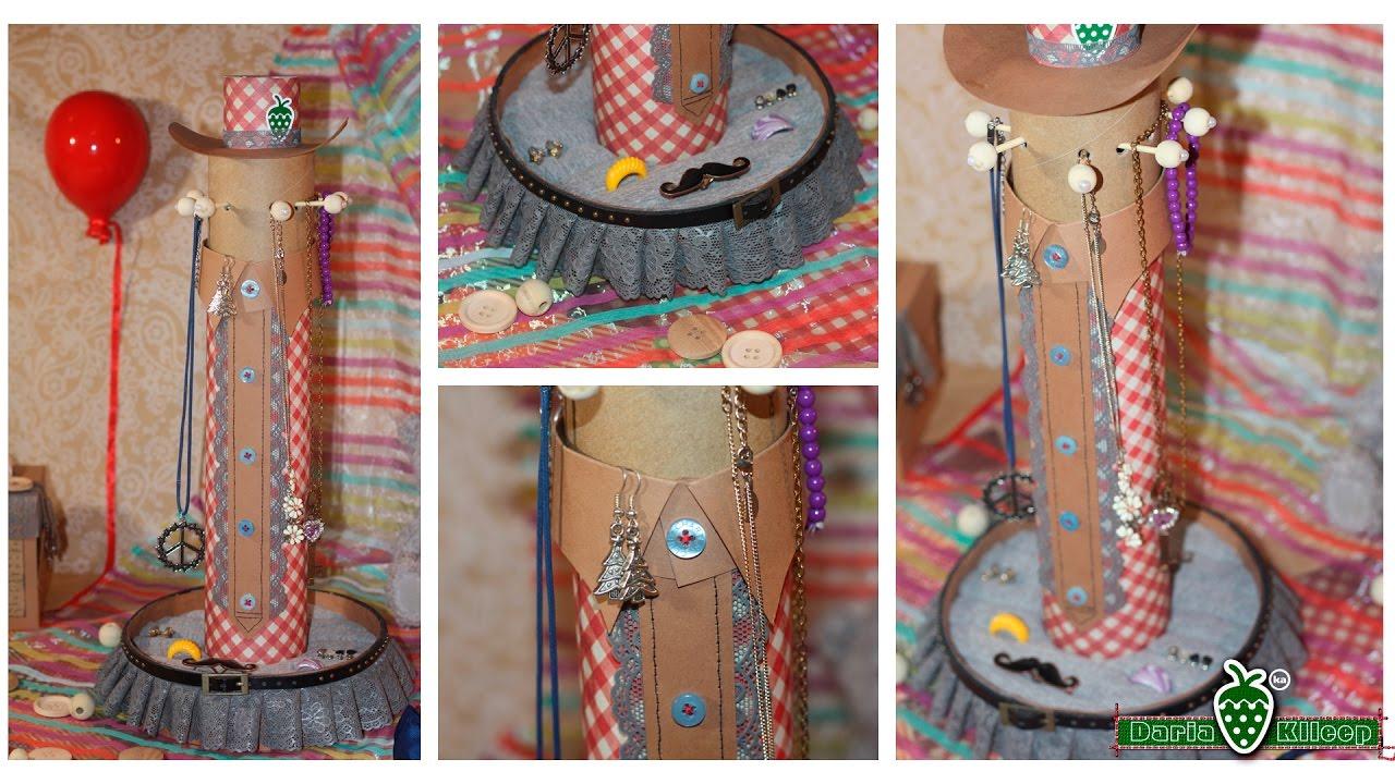 Подставка для украшений СВОИМИ РУКАМИ. / Stand for jewelry  handmade