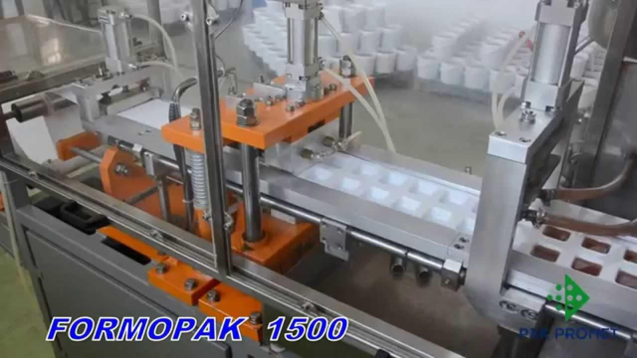 Formopak 1500 jam — оборудование для упаковки меда, джема, масла