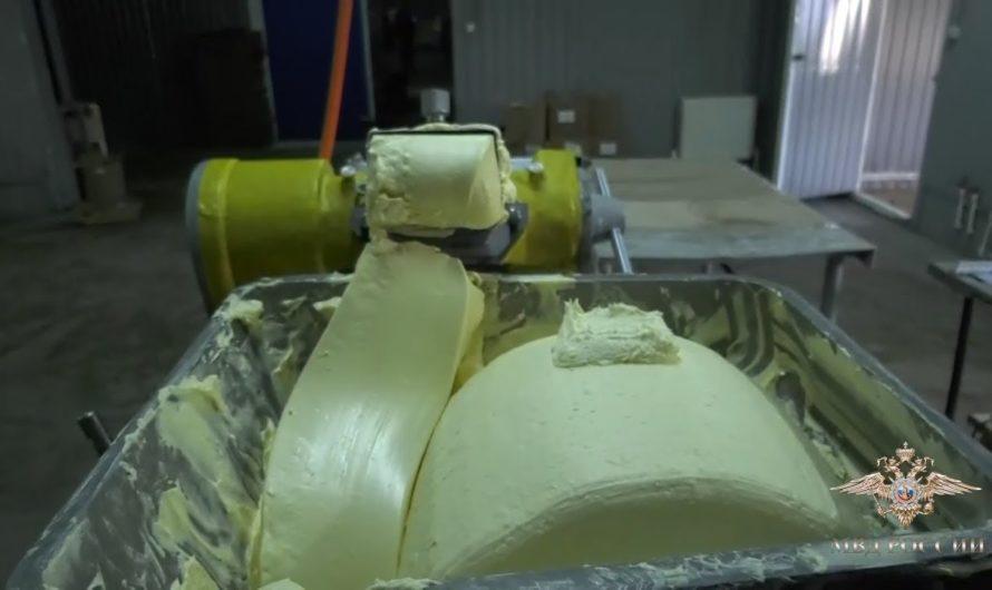 Полицейские пресекли незаконное производство сливочного масла